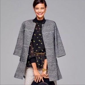 CAbi The Times Jacket Sweater Cardigan